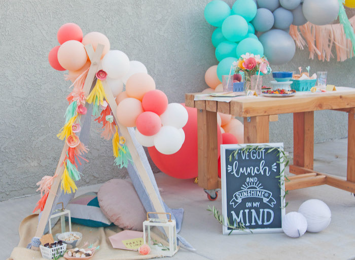 Summer Vibes Picnic Party on Kara's Party Ideas | KarasPartyIdeas.com (11)