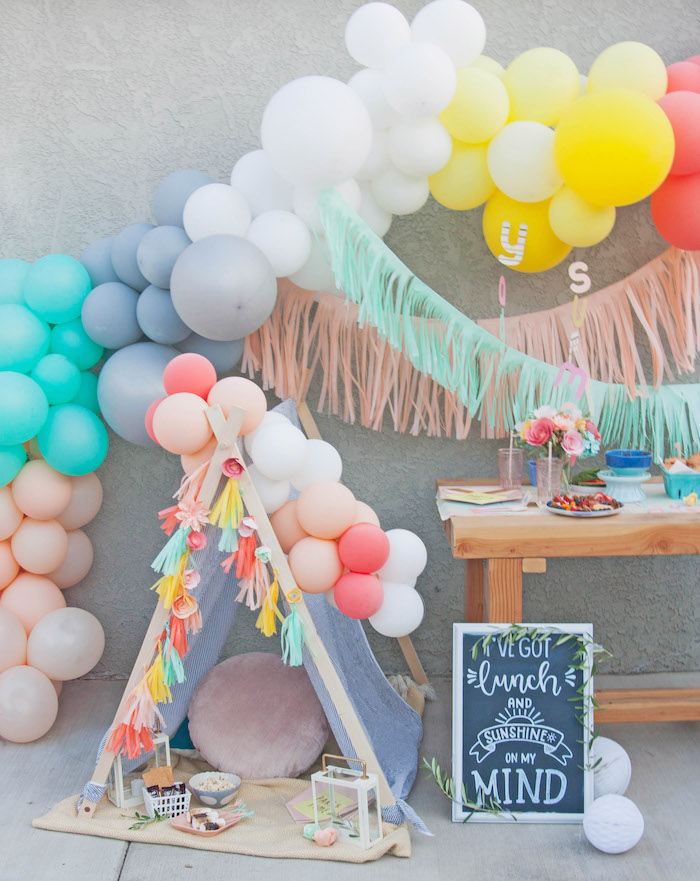 Summer Vibes Picnic Party on Kara's Party Ideas | KarasPartyIdeas.com (4)