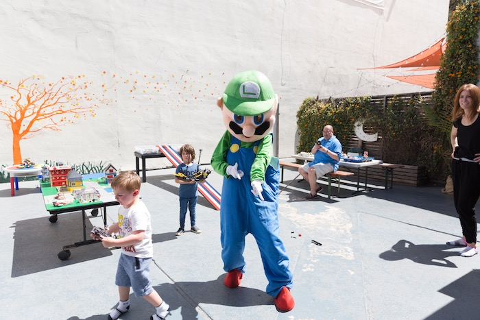 Luigi from a Super Mario Birthday Party on Kara's Party Ideas | KarasPartyIdeas.com (4)