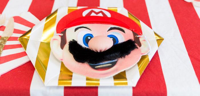 Super Mario Birthday Party on Kara's Party Ideas | KarasPartyIdeas.com (2)