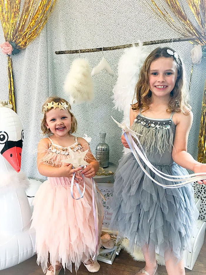 Swan-inspired Dresses from a Swan Lake Birthday Soiree on Kara's Party Ideas | KarasPartyIdeas.com (15)