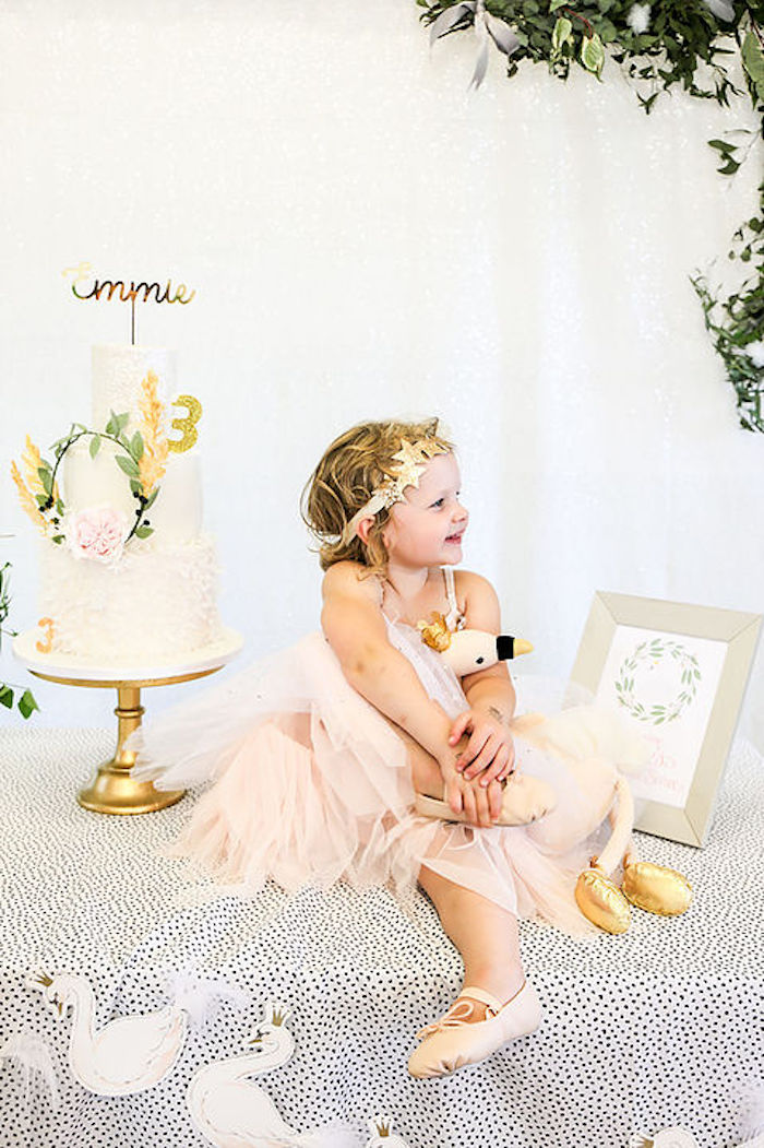 Swan Lake Birthday Soiree on Kara's Party Ideas | KarasPartyIdeas.com (23)