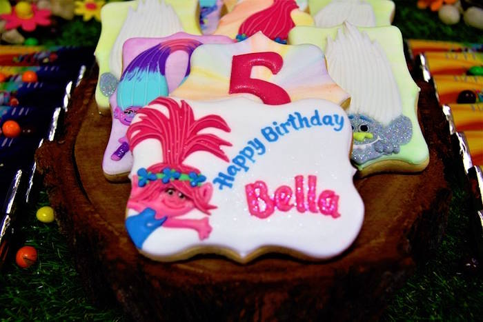 Trolls Birthday Party on Kara's Party Ideas | KarasPartyIdeas.com (8)