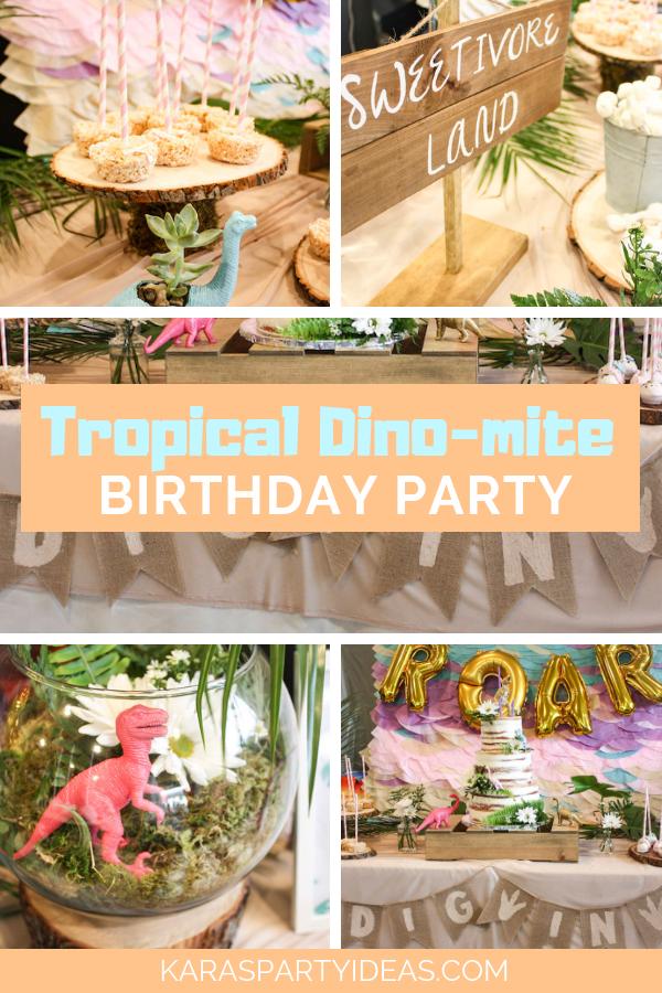 Tropical Dino-mite Birthday Party via Kara's Party Ideas - KarasPartyIdeas.com.png