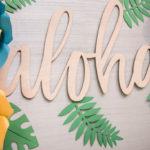 Tropical Luau Birthday Party on Kara's Party Ideas | KarasPartyIdeas.com (3)