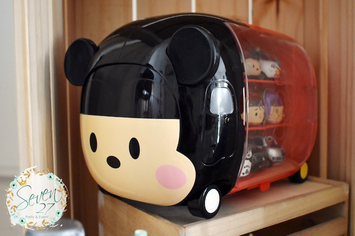 Tsum Tsum Mickey Shelf from a Tsum Tsum Bakery Birthday Party on Kara's Party Ideas | KarasPartyIdeas.com (21)