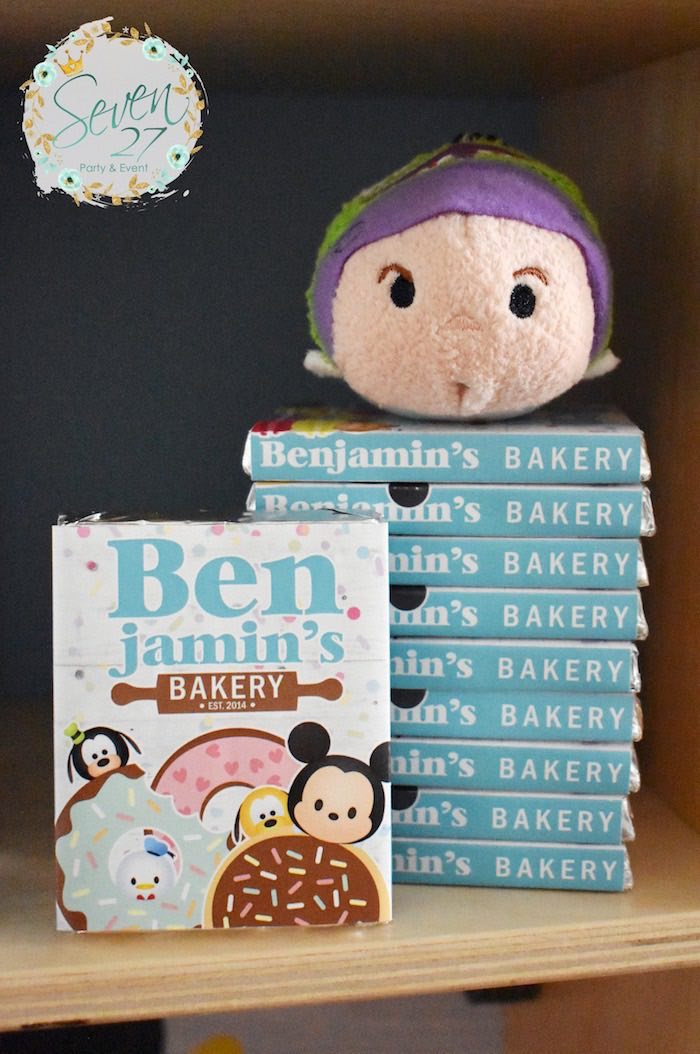Favors from a Tsum Tsum Bakery Birthday Party on Kara's Party Ideas | KarasPartyIdeas.com (17)