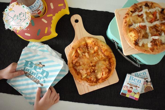 Baking Themed Tabletop from a Tsum Tsum Bakery Birthday Party on Kara's Party Ideas   KarasPartyIdeas.com (27)