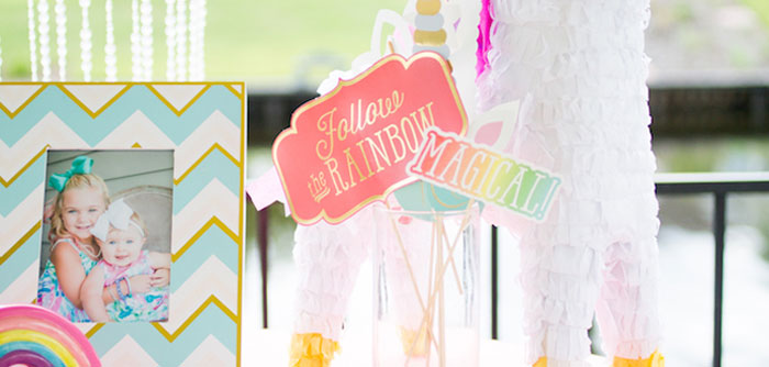 Unicorn 1st Birthday Party on Kara's Party Ideas | KarasPartyIdeas.com (5)