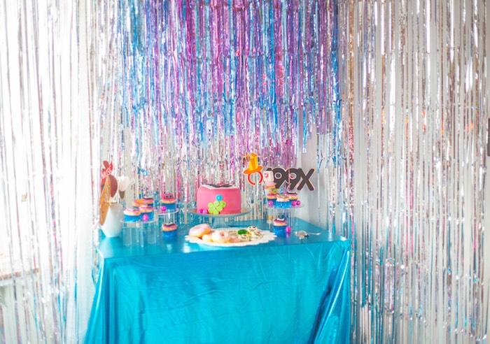 90's Themed Party Table from a 90's Themed Birthday Party on Kara's Party Ideas | KarasPartyIdeas.com (12)