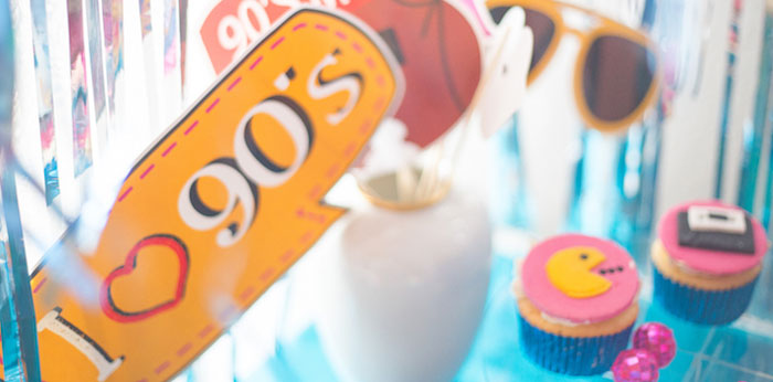 90's Themed Birthday Party on Kara's Party Ideas | KarasPartyIdeas.com (3)
