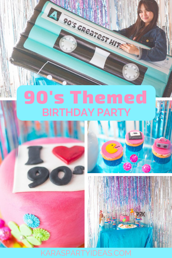 90s Themed Birthday Party Via Karas Ideas