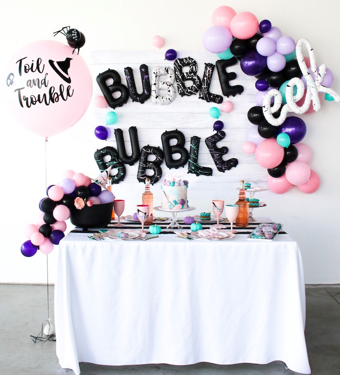 Bubble, Bubble, Toil & Trouble Halloween Party on Kara's Party Ideas | KarasPartyIdeas.com (14)