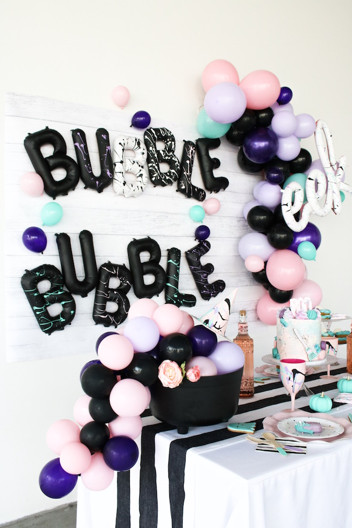 Bubble, Bubble, Toil & Trouble Halloween Party on Kara's Party Ideas | KarasPartyIdeas.com (13)