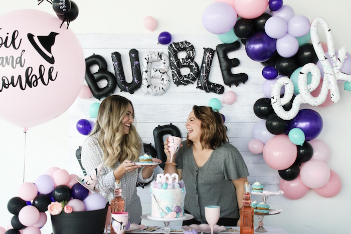Bubble, Bubble, Toil & Trouble Halloween Party on Kara's Party Ideas | KarasPartyIdeas.com (11)