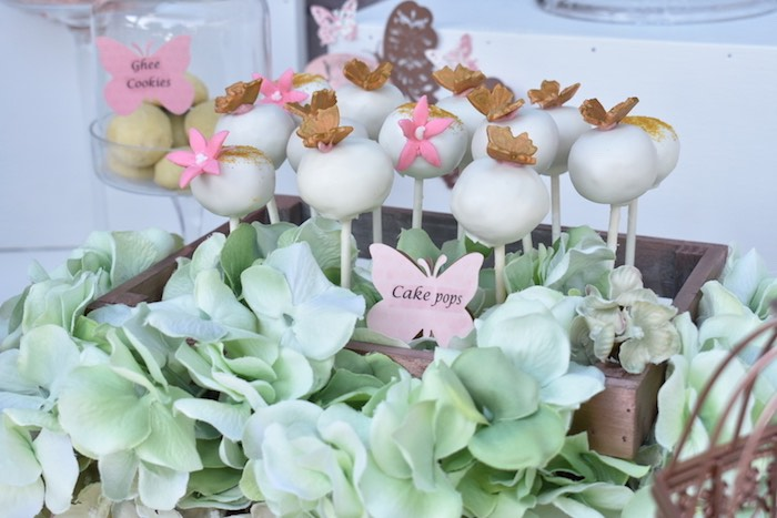 Butterfly Cake Pops from a Butterfly Garden Birthday Party on Kara's Party Ideas | KarasPartyIdeas.com (19)