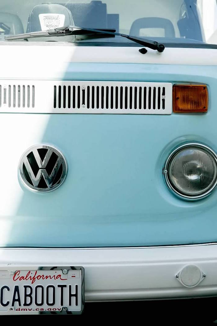 VW Van from a California Dreamin' Birthday Bash on Kara's Party Ideas | KarasPartyIdeas.com (19)
