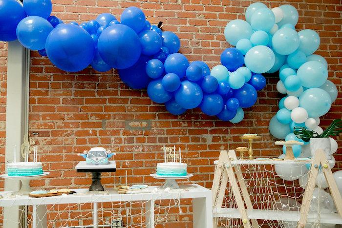 Tropical Dessert Spread from a California Dreamin' Birthday Bash on Kara's Party Ideas | KarasPartyIdeas.com (4)