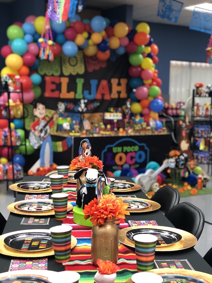 Day of the Dead Party + Guest Table from a Coco Inspired Birthday Fiesta on Kara's Party Ideas | KarasPartyIdeas.com (15)