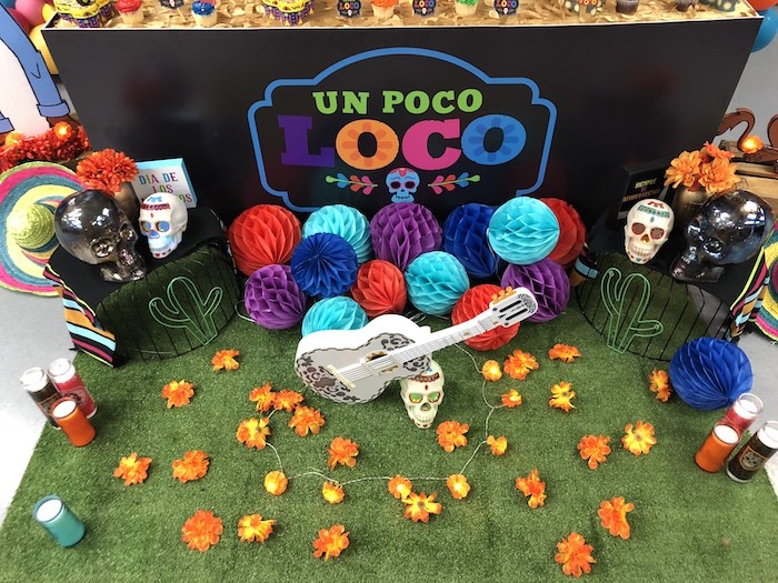 Day of the Dead Decor from a Coco Inspired Birthday Fiesta on Kara's Party Ideas | KarasPartyIdeas.com (13)