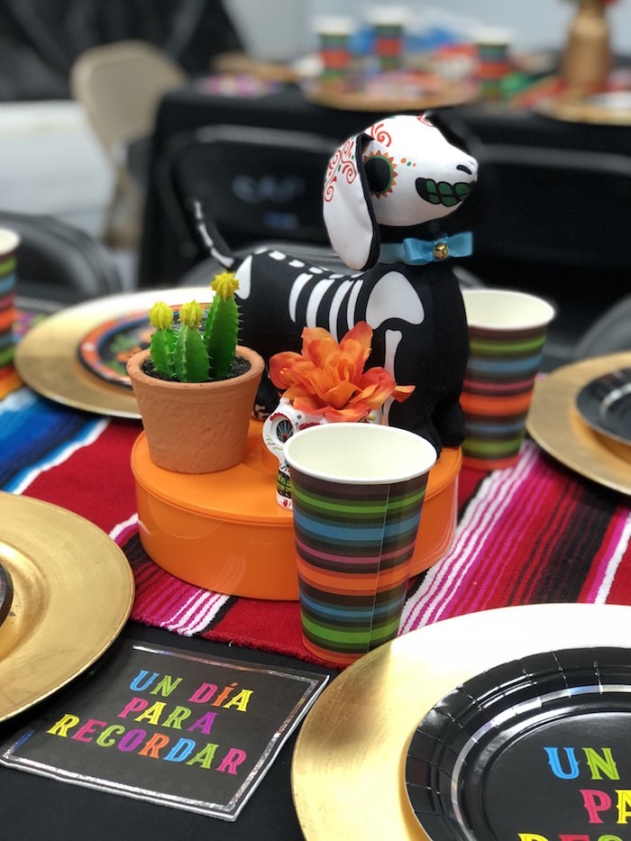 Fiesta Table Centerpiece from a Coco Inspired Birthday Fiesta on Kara's Party Ideas | KarasPartyIdeas.com (5)