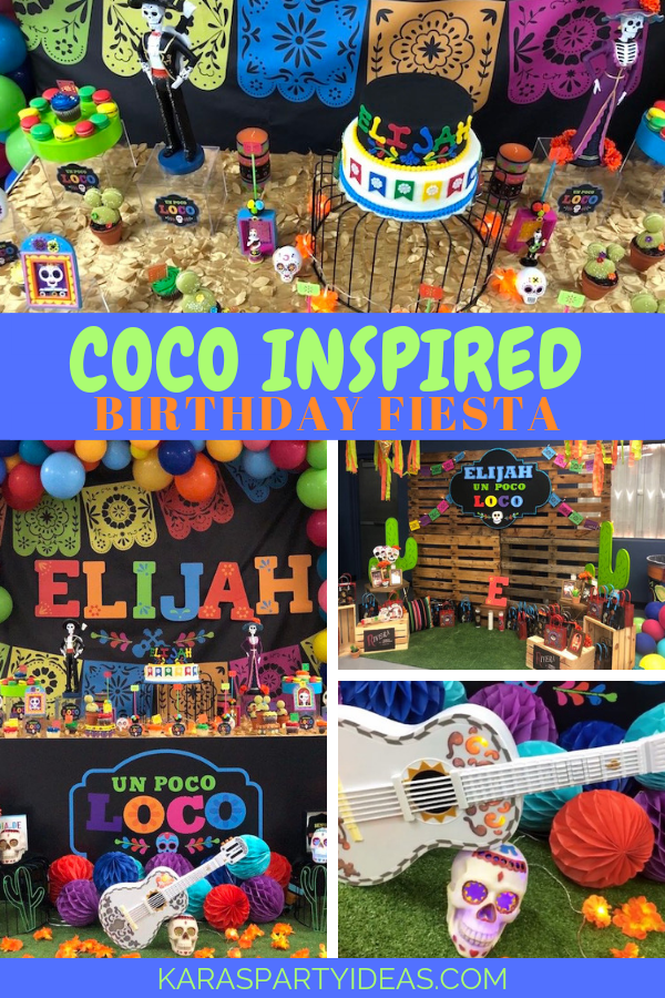 Coco Inspired Birthday Fiesta via Kara's Party Ideas - KarasPartyIdeas.com