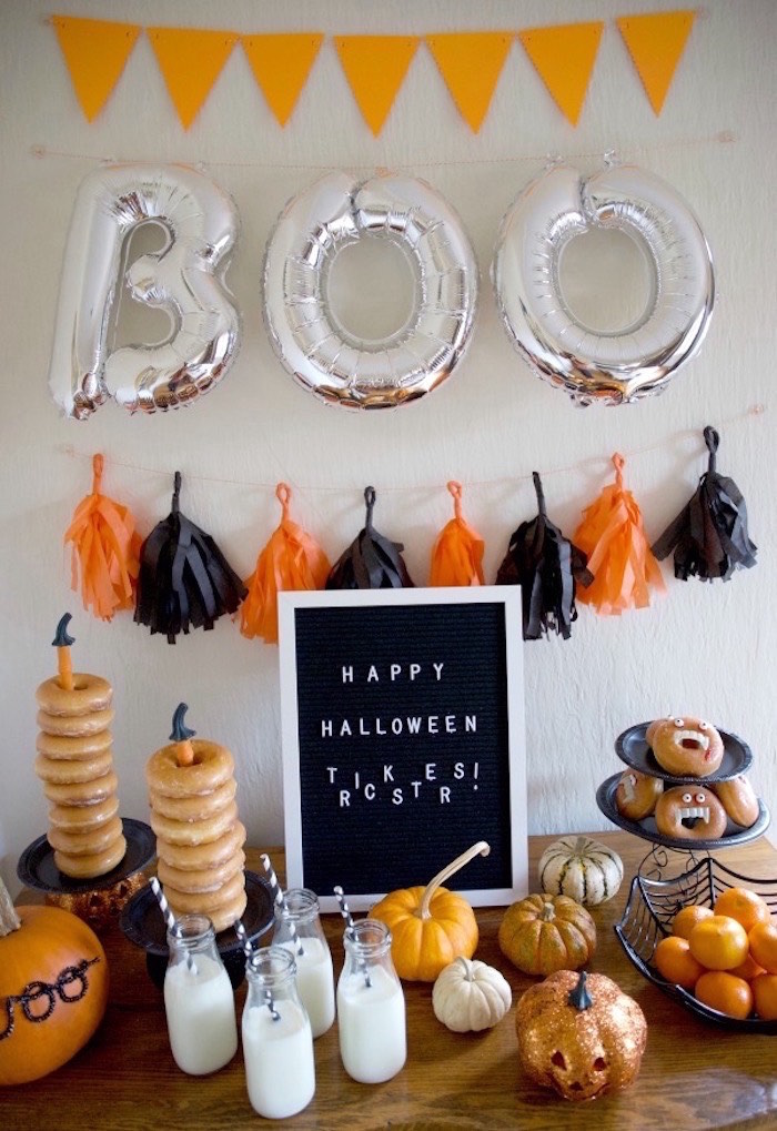 Donut Be Tricked! Halloween Party on Kara's Party Ideas | KarasPartyIdeas.com (5)