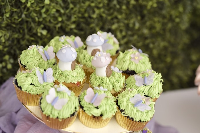 Enchanted Fairy Forest First Birthday Party on Kara's Party Ideas | KarasPartyIdeas.com (17)