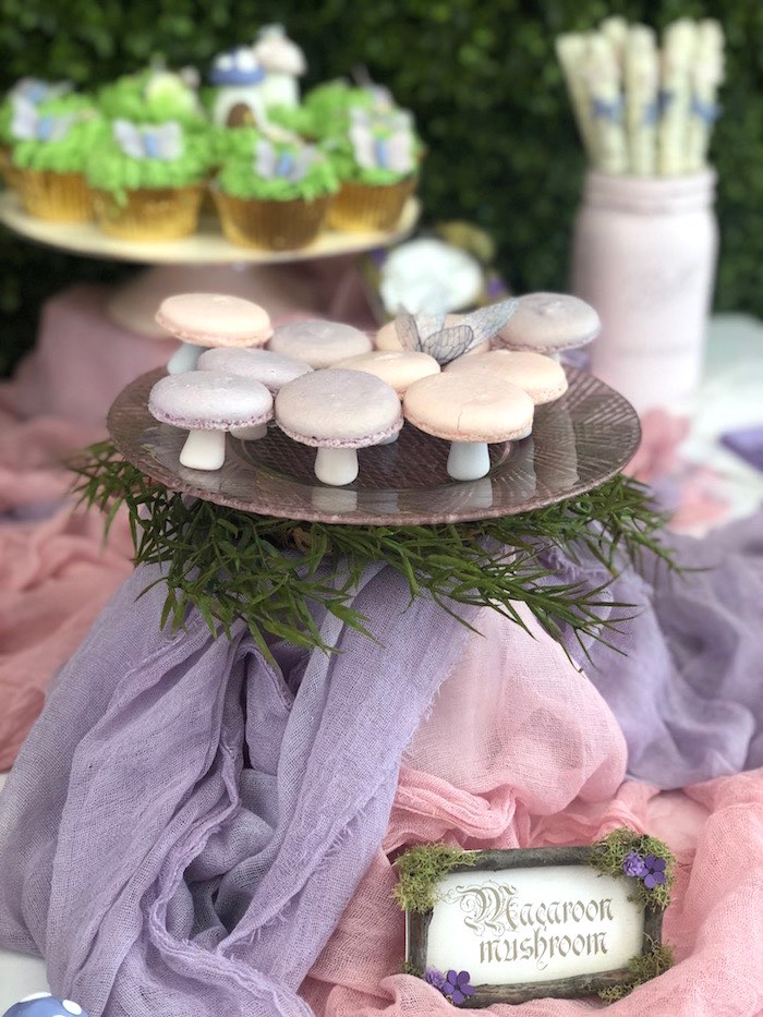 Enchanted Fairy Forest First Birthday Party on Kara's Party Ideas | KarasPartyIdeas.com (14)