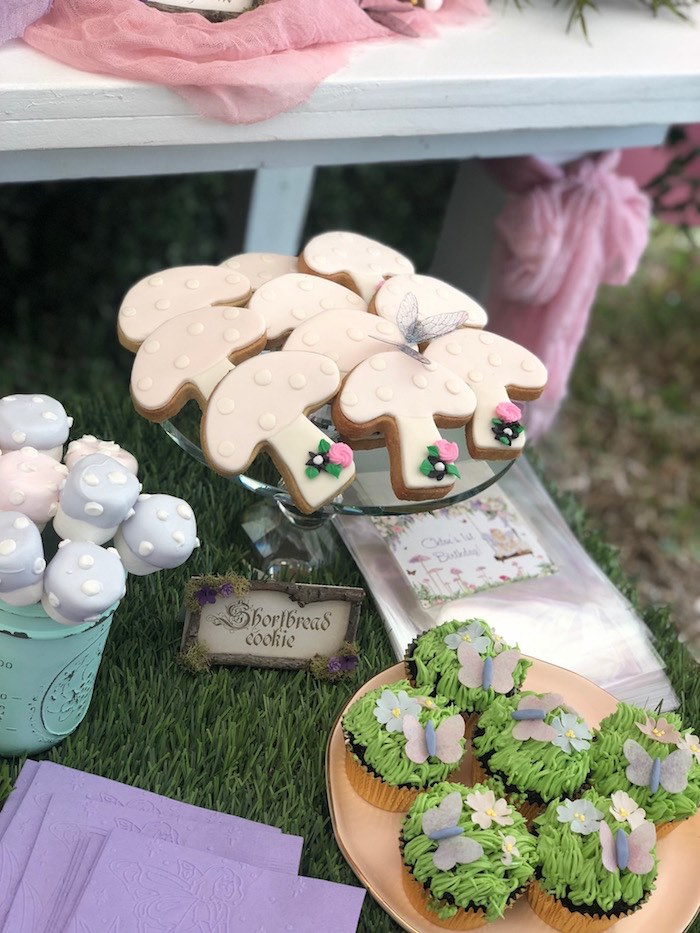 Enchanted Fairy Forest First Birthday Party on Kara's Party Ideas | KarasPartyIdeas.com (13)