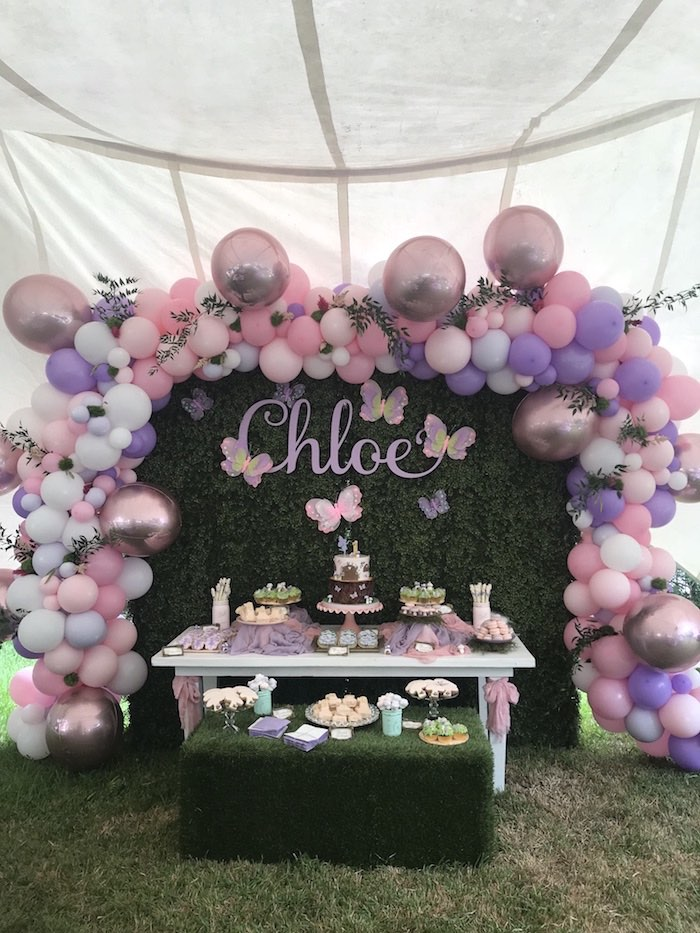 Enchanted Fairy Forest First Birthday Party on Kara's Party Ideas | KarasPartyIdeas.com (4)