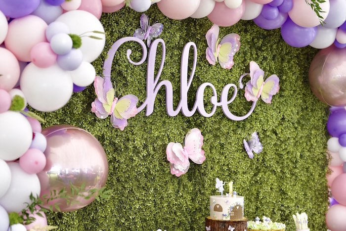 Enchanted Fairy Forest First Birthday Party on Kara's Party Ideas | KarasPartyIdeas.com (30)
