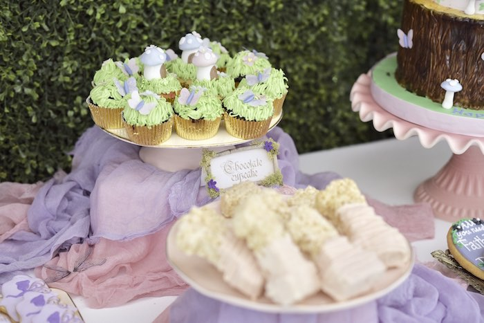 Enchanted Fairy Forest First Birthday Party on Kara's Party Ideas | KarasPartyIdeas.com (28)