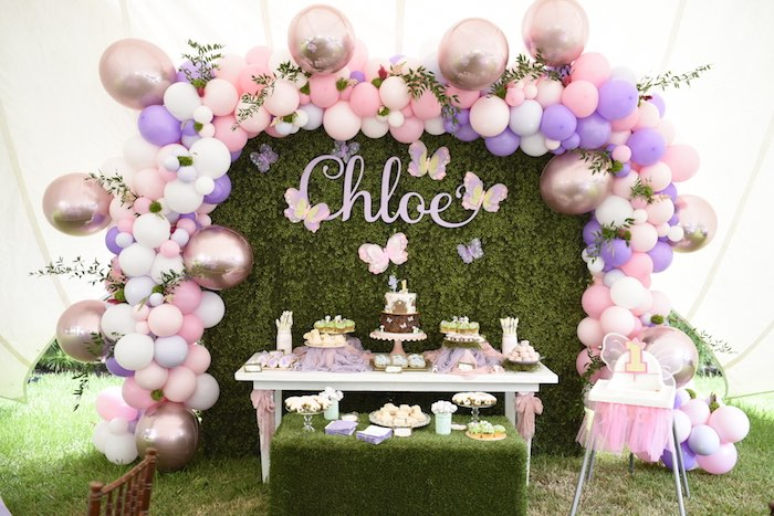 Enchanted Fairy Forest First Birthday Party on Kara's Party Ideas | KarasPartyIdeas.com (24)