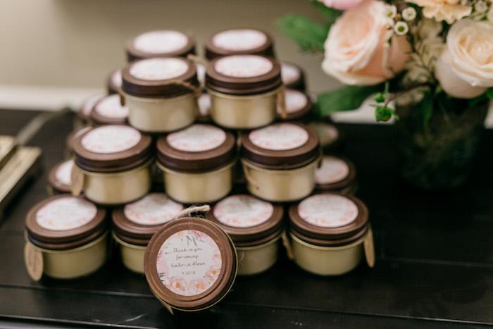 Favor Jars from an Enchanted Garden Baby Shower on Kara's Party Ideas | KarasPartyIdeas.com (21)