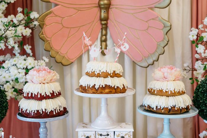 Drip Bundt Cakes from an Enchanted Garden Baby Shower on Kara's Party Ideas | KarasPartyIdeas.com (18)