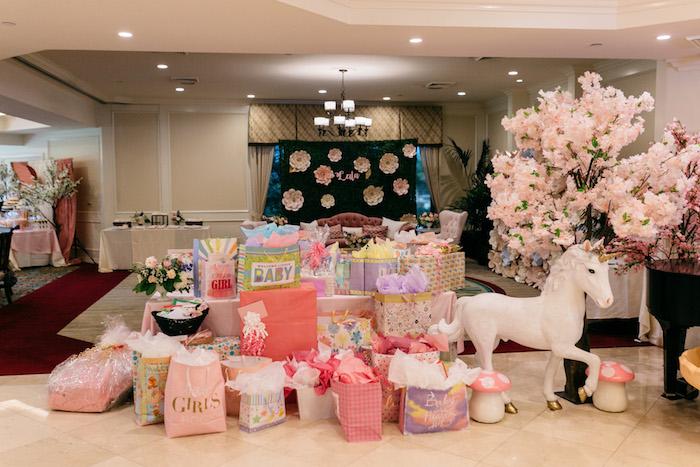 Kara's Party Ideas Enchanted Garden Baby Shower | Kara's Party Ideas