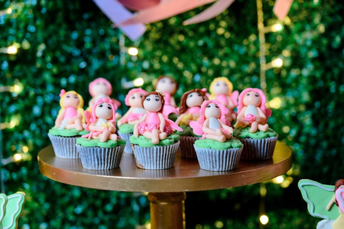 Fairy Cupcakes from a Fairy Princess Birthday Party on Kara's Party Ideas | KarasPartyIdeas.com (19)