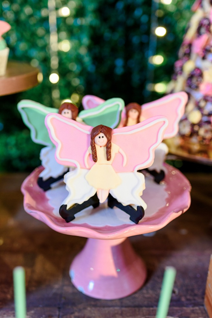 Fairy Cookies from a Fairy Princess Birthday Party on Kara's Party Ideas | KarasPartyIdeas.com (9)
