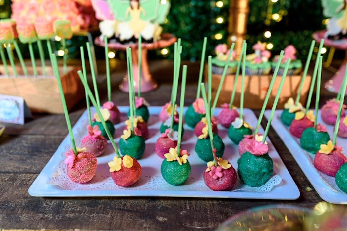 Fairy Garden Cake Pops from a Fairy Princess Birthday Party on Kara's Party Ideas | KarasPartyIdeas.com (21)