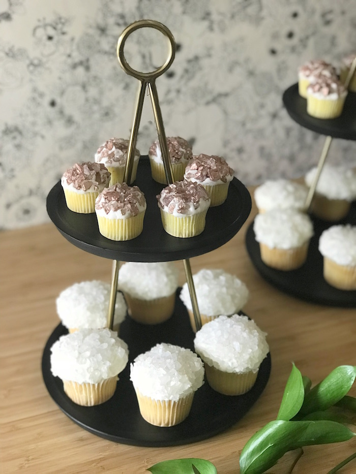 Rock Crystal Cupcakes from a Fall Floral First Birthday Party on Kara's Party Ideas | KarasPartyIdeas.com (9)
