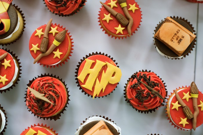 Harry Potter Cupcakes from a Harry Potter Birthday Party on Kara's Party Ideas | KarasPartyIdeas.com (17)