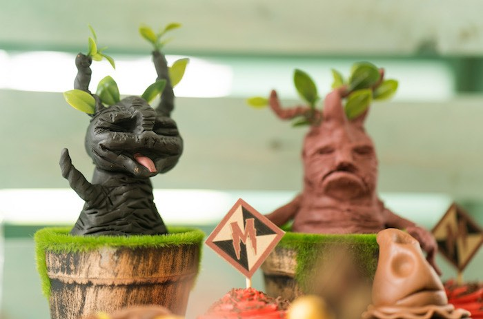 Mandrakes from a Harry Potter Birthday Party on Kara's Party Ideas | KarasPartyIdeas.com (15)