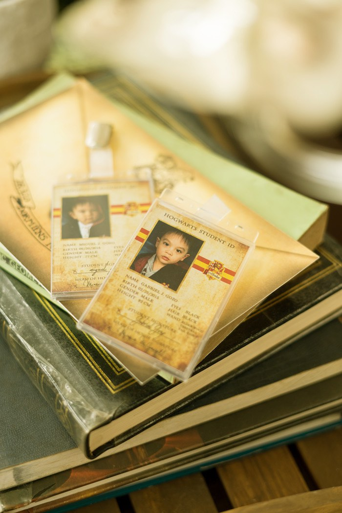 Hogwarts Student ID from a Harry Potter Birthday Party on Kara's Party Ideas | KarasPartyIdeas.com (14)