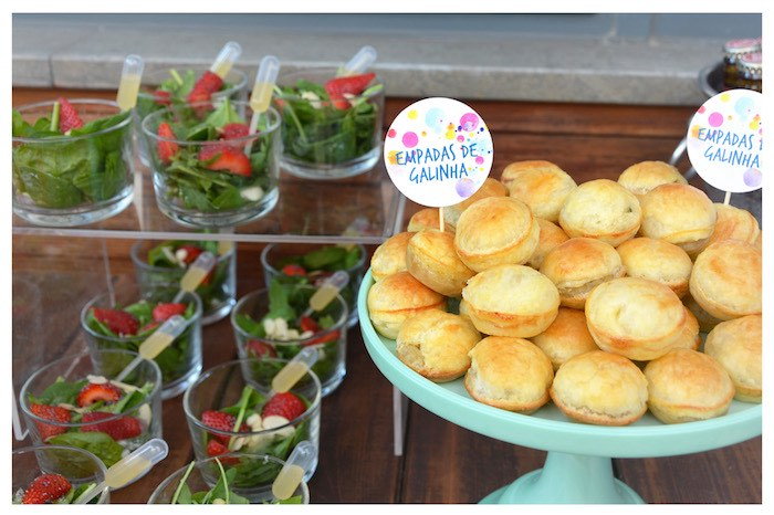 Pan Rolls from a Joy of Color Birthday Party on Kara's Party Ideas | KarasPartyIdeas.com (17)