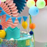 Joy of Color Birthday Party on Kara's Party Ideas | KarasPartyIdeas.com (1)