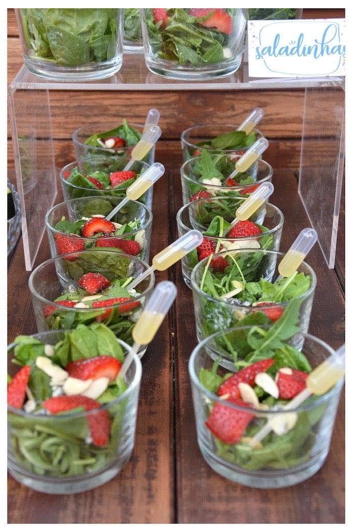 Salad Cups from a Joy of Color Birthday Party on Kara's Party Ideas   KarasPartyIdeas.com (22)