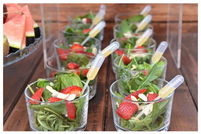Salad Cups from a Joy of Color Birthday Party on Kara's Party Ideas   KarasPartyIdeas.com (20)