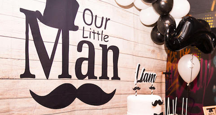 Little Man Mustache Party on Kara's Party Ideas | KarasPartyIdeas.com (2)