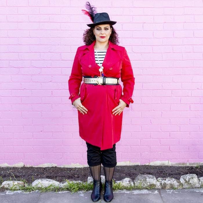 Feminine Captain Hook Costume from a Maleficent's Villain Halloween Party on Kara's Party Ideas | KarasPartyIdeas.com (14)